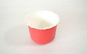 Nádoby - Recyklovaná miska - PINK - 9906319_