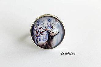 Prstene - The Deer in The Winter Wood - 9906914_