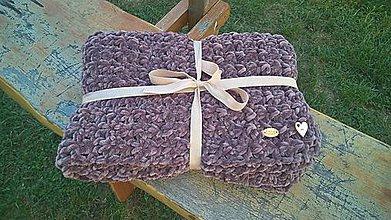Textil - Háčkovaná baby deka - 9905138_