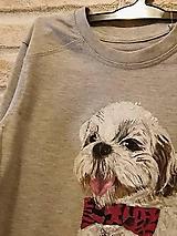 Detské oblečenie - Tričko so psíkom na hrudi - 9905064_