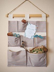 Košíky - Vrecká na stene na mieru - 9907207_