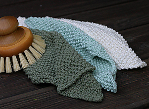 Úžitkový textil - uteráčik / utierka  (Tyrkysová) - 9906584_