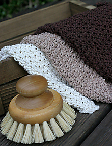 Úžitkový textil - uteráčik / utierka (Biela) - 9906610_