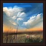 Obrazy - Modré nebo - 9905552_