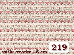 Úžitkový textil - Bavlnené romantické posteľné návliečky (Ružová srdiečková) - 9905133_