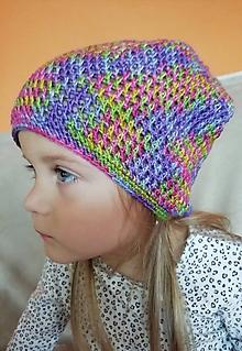 b0c32dd23240 Detské čiapky - melírovaná čiapka KIKI - 9908713
