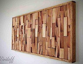 Obrazy - drevený obraz abstract MIX - 9907731_