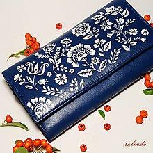 Peňaženky - Modrotisk - 9909893_