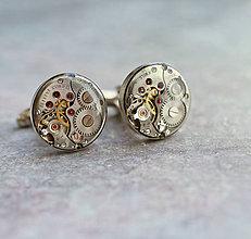 Šperky - Manžetové gombíky - 9910307_
