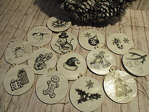 Dekorácie - Vianočné odzoby - 9908328_
