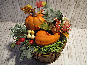 Dekorácie - Jesenná dekorácia - 9908395_