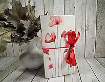 Papiernictvo - Wild red zápisník - 9908417_