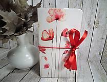 Papiernictvo - Wild red zápisník - 9908421_