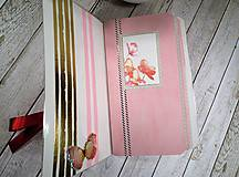 Papiernictvo - Wild red zápisník - 9908422_