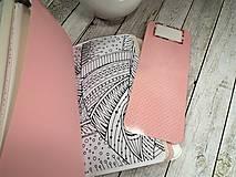 Papiernictvo - Wild red zápisník - 9908430_