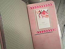 Papiernictvo - Wild red zápisník - 9908435_