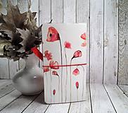Papiernictvo - Wild red zápisník - 9908447_