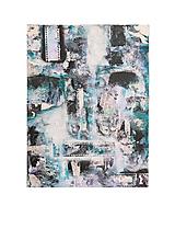 - °spomienky° /abstraktná maľba na plátne - kombinovaná technika/ - 9909415_