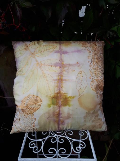 Ecoprint hodvábna obliečka Rosé