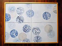"""Obrazy - """"Mikrosvět"""" porcelánový obraz - 9910444_"""
