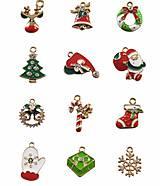 Vianočné prívesky 2,4 x 1,8 cm