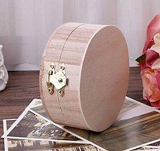 Polotovary - Krabička drevená 9,8 x 4,3 - 9909910_