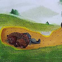 Kresby - Jesenný spánok - 9909116_