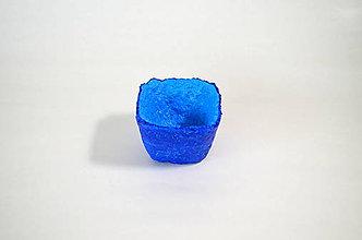Nádoby - Recyklovaná miska - BLUE mini 1 - 9910564_