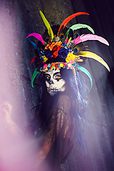 - Koruna z kolekcie Santa Muerte Halloween - 9908388_