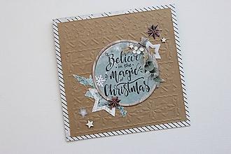 Papiernictvo - Vianočná pohľadnica - 9907339_