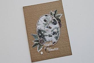 Papiernictvo - Vianočná pohľadnica - 9907340_
