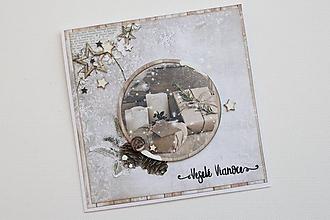 Papiernictvo - Vianočná pohľadnica - 9907342_