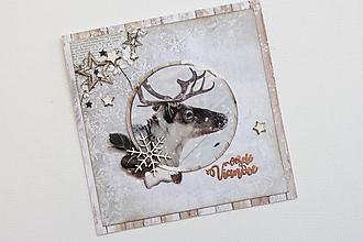 Papiernictvo - Vianočná pohľadnica - 9907348_