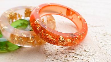 Prstene - Živicový prsteň - 9910257_