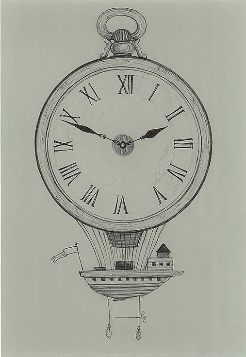 Let časom, kresba