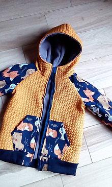 Detské oblečenie - Prechodná bunda - 9908363_