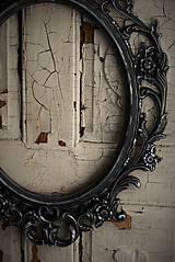 Zrkadlá - Barokové zrkadlo (Čierna) - 9909308_