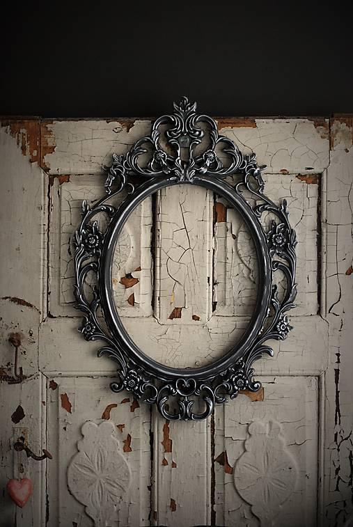 Barokové zrkadlo (Čierna)