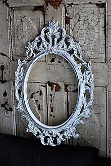 Zrkadlá - Barokové zrkadlo (Biela) - 9909255_