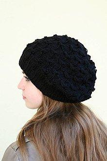 Čiapky - pletena čiapka - 9910016_