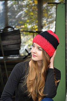 Čiapky - pletena čiapka - 9910039_