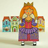 Odznaky/Brošne - Princezna Viola - kožená brož - 9908811_