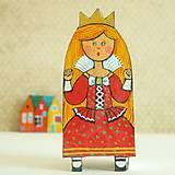 Odznaky/Brošne - Princezna Berunka - kožená brož - 9908858_