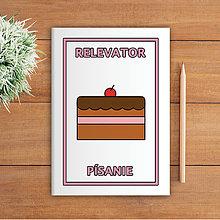 Papiernictvo - Minimalistické školské zošity pre prváčikov (tortička) - 9908014_