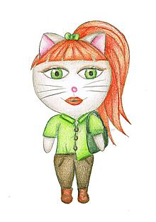 Kresby - Kočka doslova 4 - 9909540_