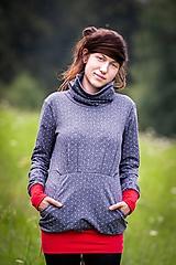 Mikiny - Mikina FREUDE punkten - 9912916_