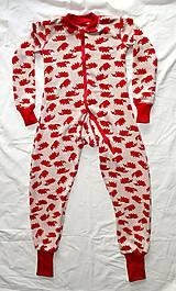 Detské oblečenie - Rastúci overal - merino vlna (veľ. 105-116cm (4-6rokov) – 19 farieb) - 9912194_