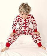 Detské oblečenie - Rastúci overal - merino vlna (veľ. 105-116cm (4-6rokov) – 19 farieb) - 9912195_