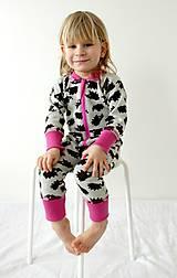 Detské oblečenie - Rastúci overal - merino vlna (veľ. 105-116cm (4-6rokov) – 19 farieb) - 9912196_