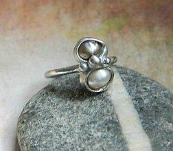 Prstene - Dvojka /říční perla/ - 9912016_